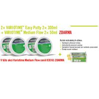 2× VARIOTIME Easy Putty 2× 300ml + VARIOTIME Medium Flow 2× 50ml ZDARMA